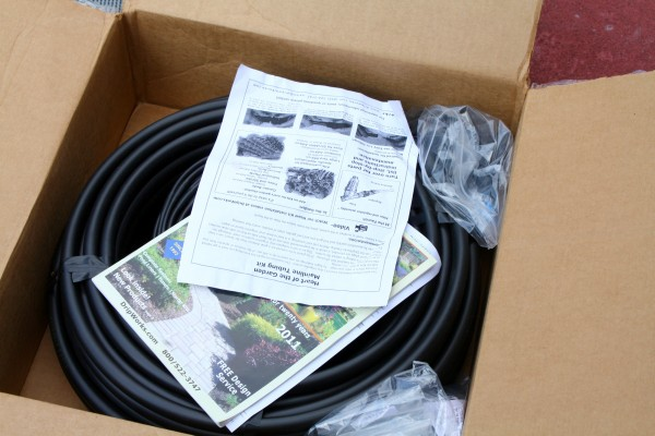 Drip Irrigation in Box