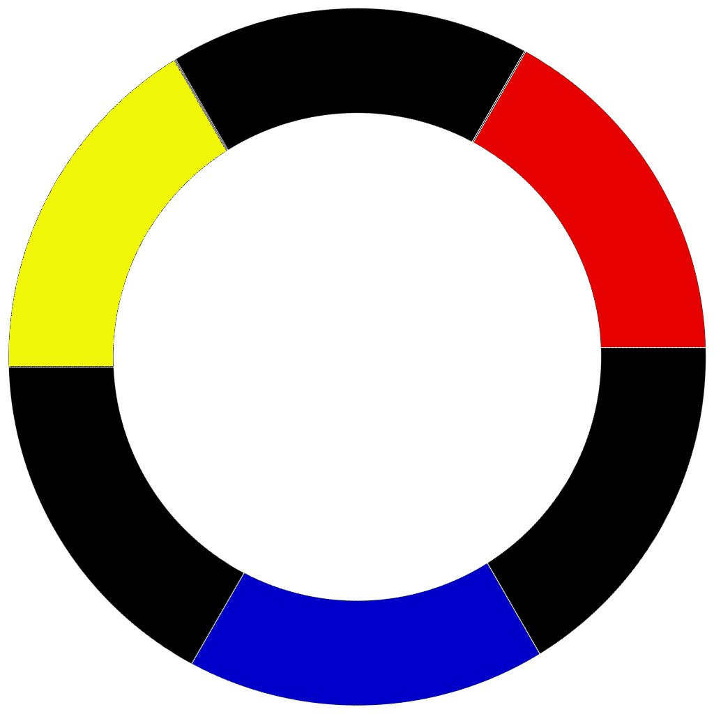 Color schemes color wheel basics craft thyme for Primary color scheme