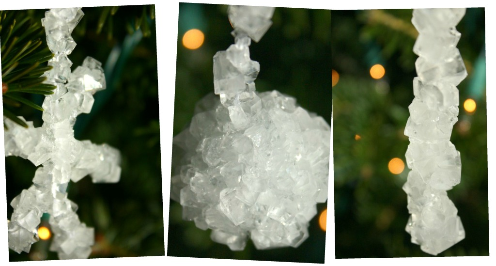 Crystal ornaments made with borax ... - Crystal Ornaments From Borax: How To Make At Home €� Craft Thyme