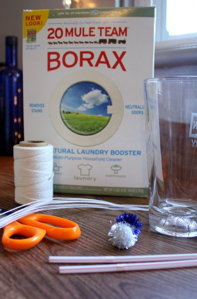 how to make crystals without borax