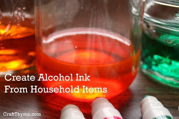 How to make alcohol inks