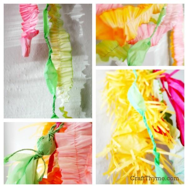 Crepe Paper Tutorials • Craft Thyme
