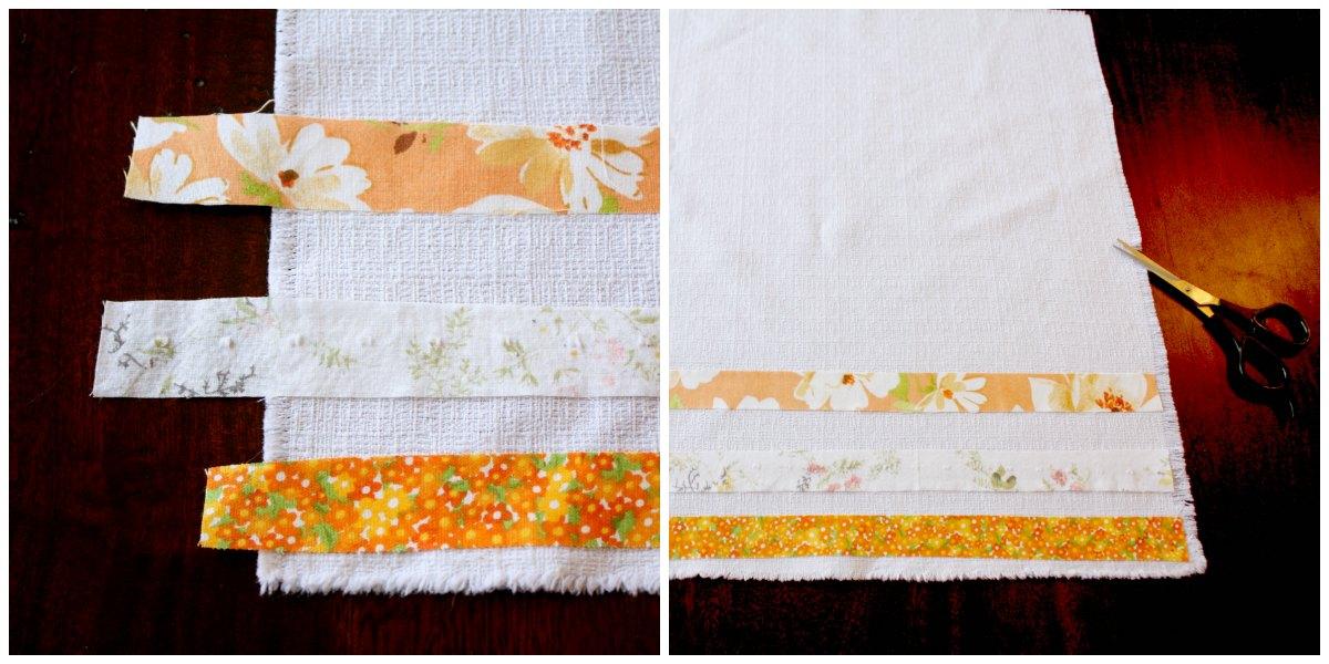 How to Make No Sew Fabric Napkins • Craft Thyme