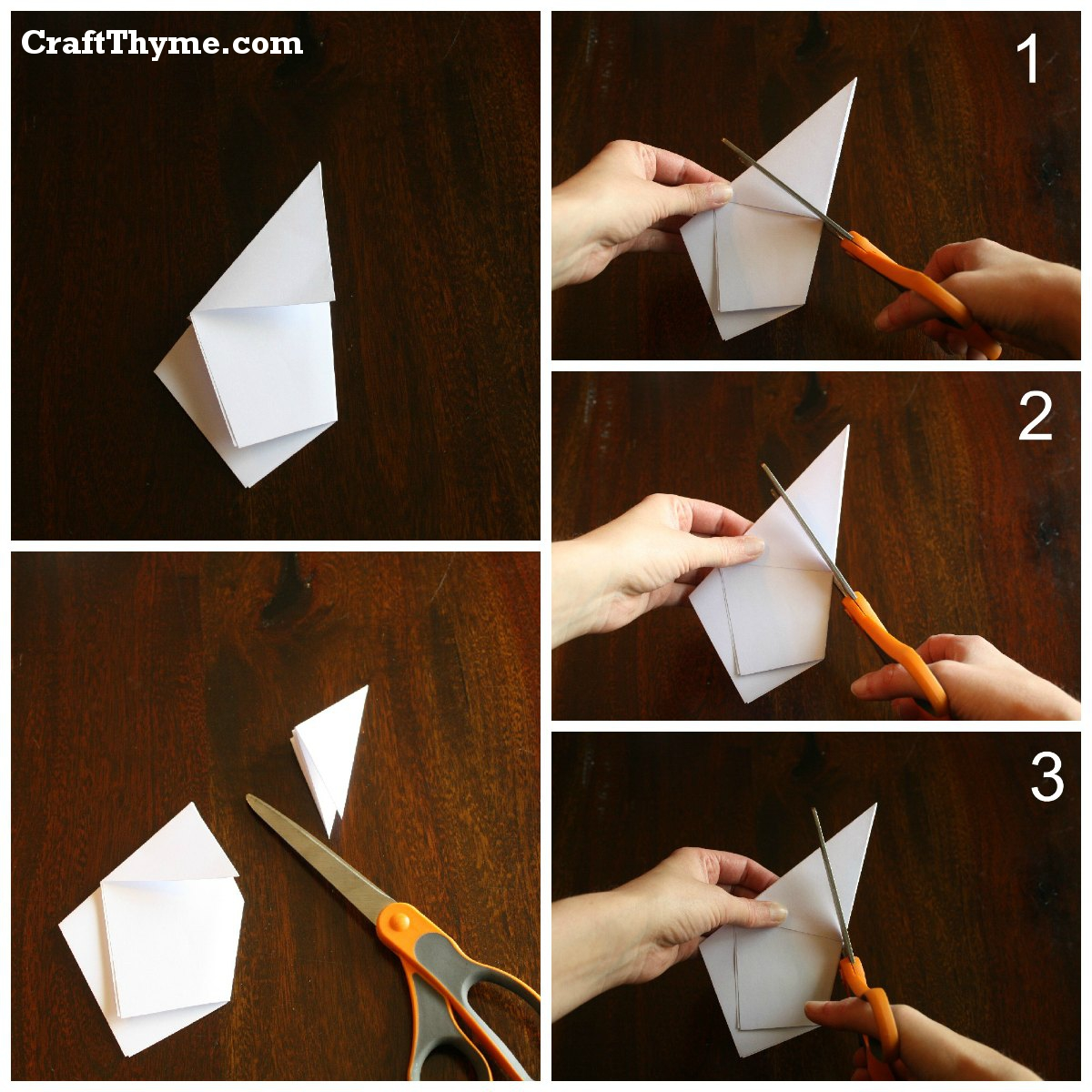 Paper stars how to make 5 pointed 3 d craft thyme - We Won T Discuss How The Waste Paper Makes Me Cringe