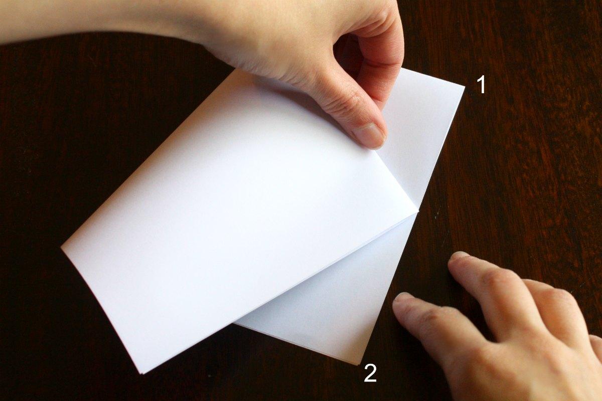 Paper Star Step2