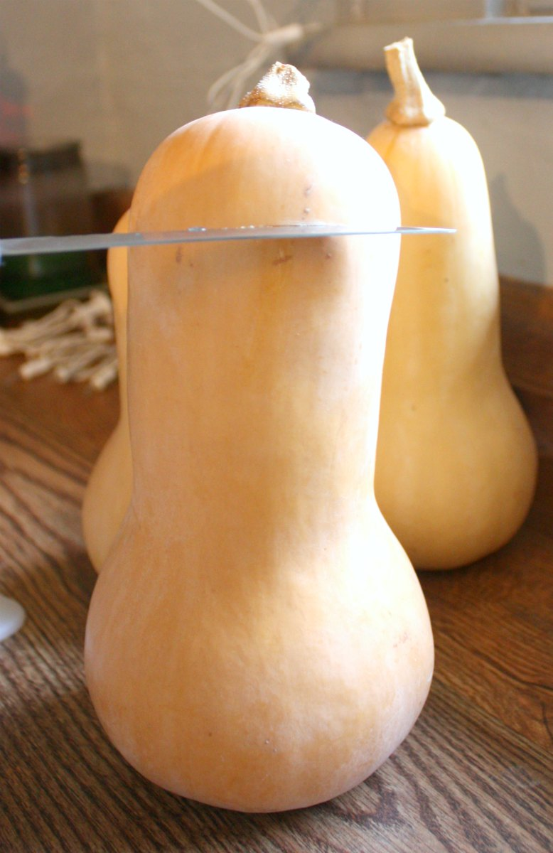 vases from butternut squash craft thyme
