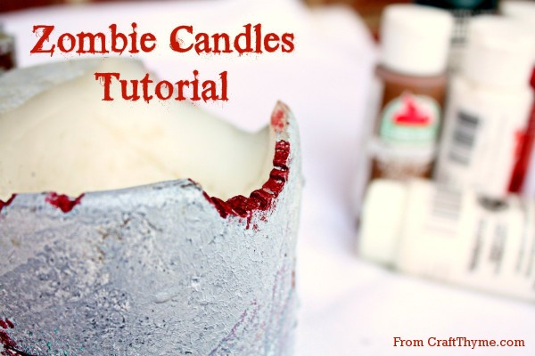 How to make your very own, undead candles