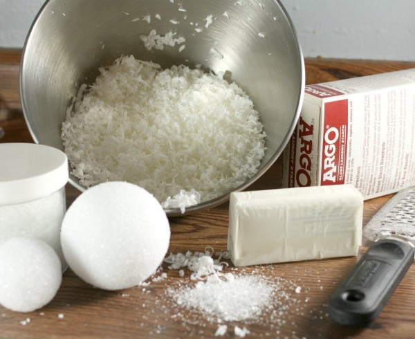 Faux Snowball Ingredients