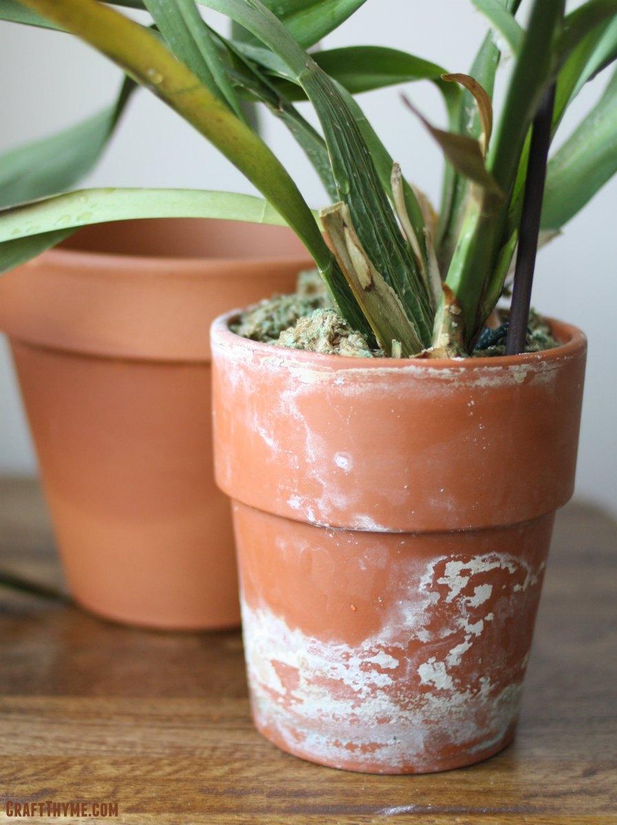 Rustic Terracotta Pots Craft Thyme