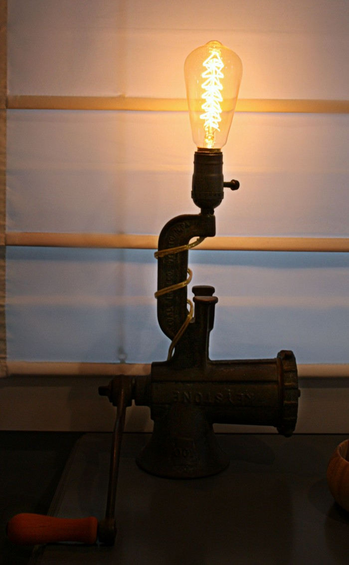 How To DIY An Industrial Table Lamp. #industrial #table #lamp
