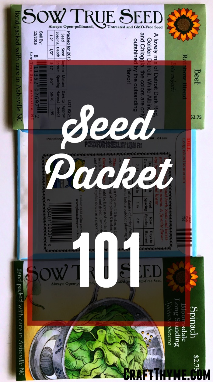 Seed Packet 101