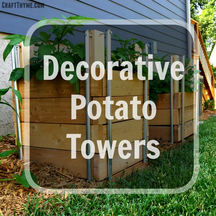 How to make a potato tower