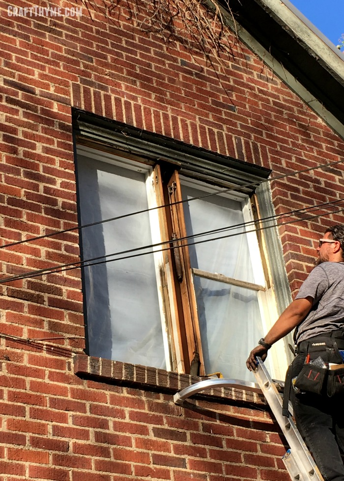 All the details on the actual process of having vinyl replacement windows installed