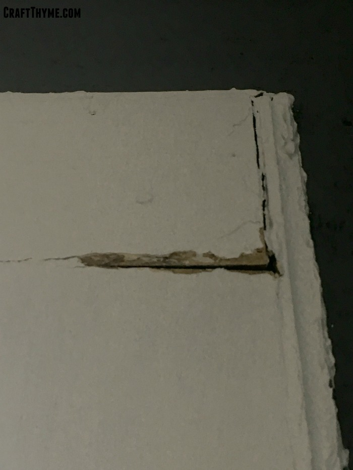 Cracks in trim caused by installing replacement windows