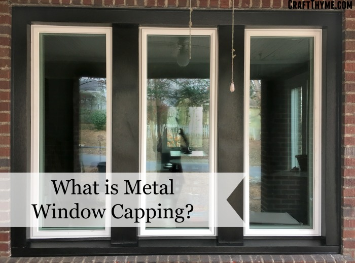 What is metal window capping
