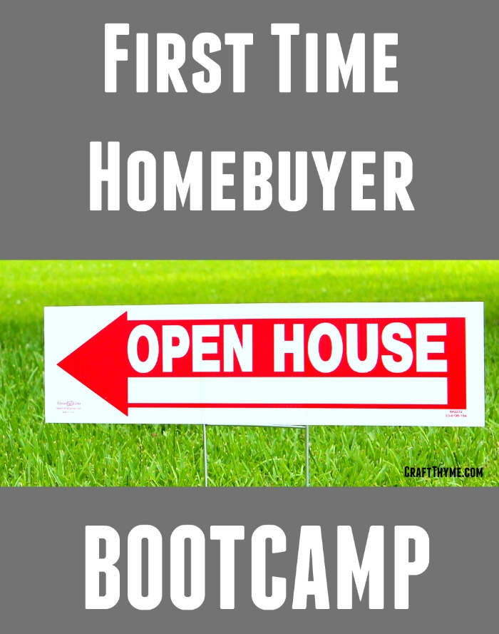 First Time Home Buyer Bootcamp