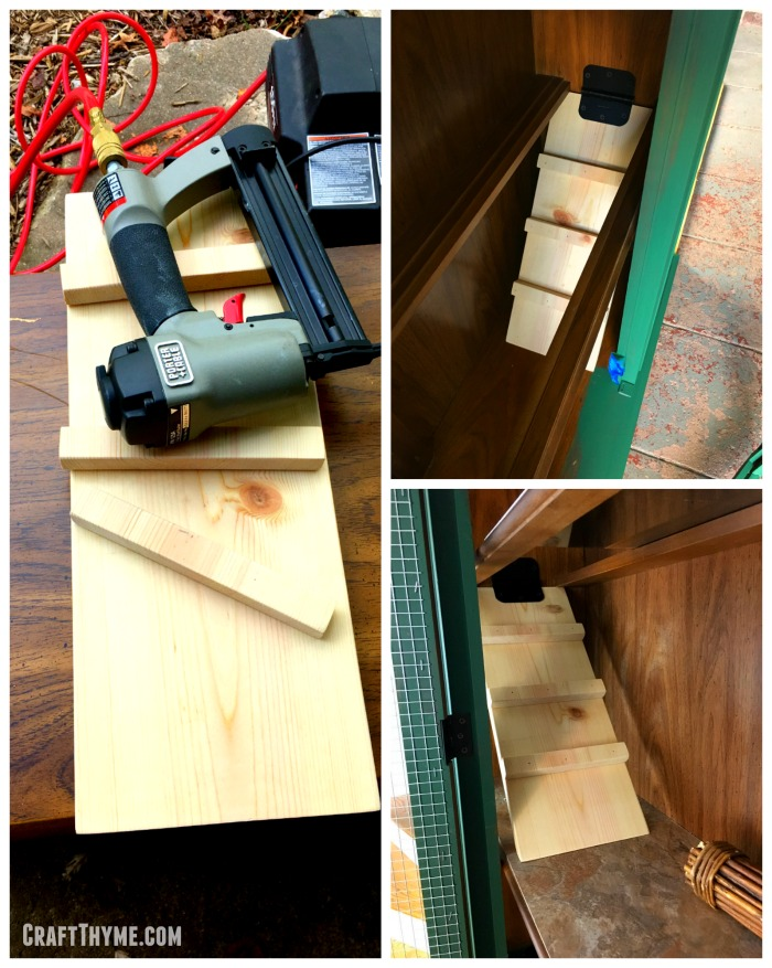 Details of building a rabbit ramp.