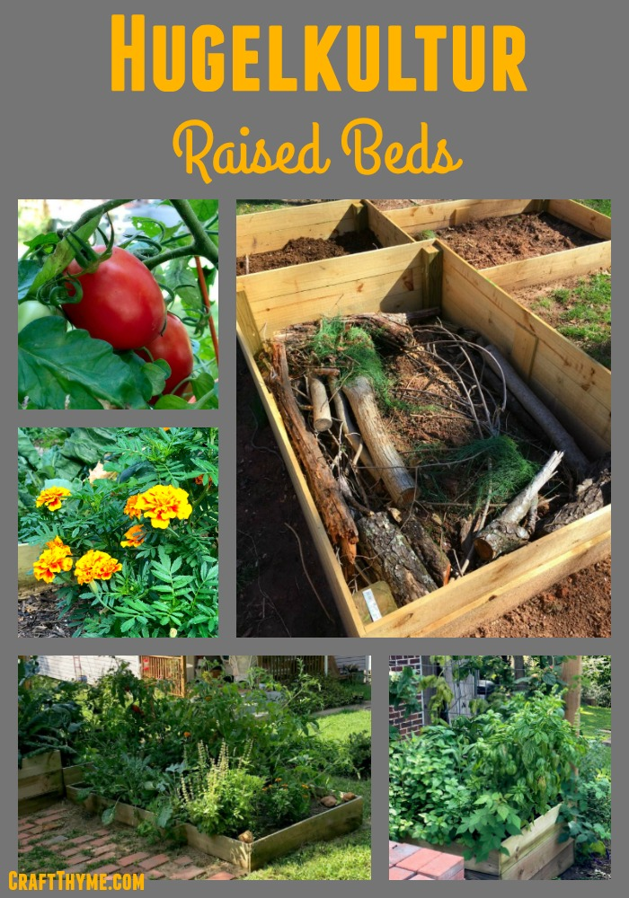 How to make hugelkultur raised beds and why you should make them